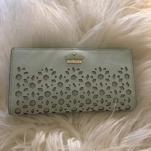 Kate Spade Perforated Stacy Wallet